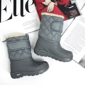 IGOR . Grey Snow Boots for Baby
